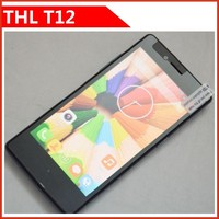 "Original THL T12 smartphone 4.5"" 1280x720 MTK6592M Octa Core 1GB RAM 8GB ROM Android 4.4 2.0MP+8.0MP WCDMA Cell Phone"