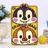 Smart Cartoon silicone case skin cover for iPad mini 4, sully case for ipad mini 4, tiger case for ipad mini 4