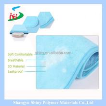 Reciclar o uso da água absorvendo almofadas de dormir para uso, plsy uso, mudança de urina