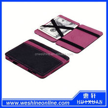 High quality Magic wallet / travel organizer wallet / leather wallet