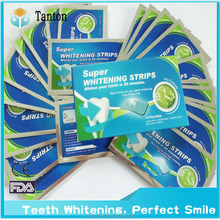 NEW ! HIgh effect Home use Bright smile Teeth whitening strips ,whitening dry strips,tooth whitening products from Tanon factory