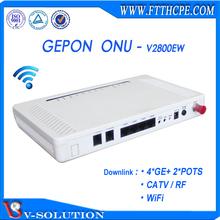 Good Price 4GE+2POTS+WiFi+CATV CATV FTTH optical NODE