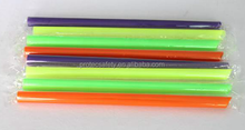 mix color milk tea drinking straw