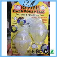plastic boil egg as seen on TV No peel hard plastic boiled eggs