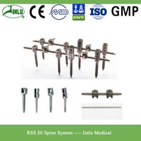 RSS-III Spinal Titanium Rods and Pedicle Screws