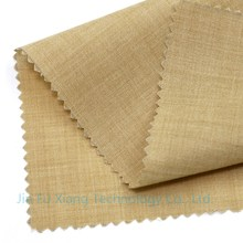 China supplier of polyester cotton woven artificial leather substrate fabric