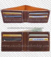 Men's Cow Leather Wallet