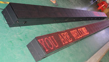 led display advertising /Rechargeable LED Moving Sign Table Mini LED Display