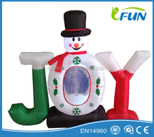 inflatable snowman for Christmas / inflatable Christmas snowman for sale / inflatable Christamas decorations snowman