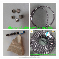 good quality machine tool parts diamond wire saw for marble block squaring &profiling