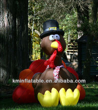 small inflatable turkey