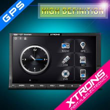 """XTRONS 7"""" HD touch creen 2 din car dvd player entertainmet system GPS/bluetooth/radio/IPOD"""