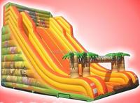 Jungle Festival Slide,Jungle Inflatable slide