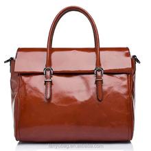 2015 wholesale fashion ladies genuine cow leather handbag
