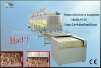 Industrial meat microwave dryer&sterilizer