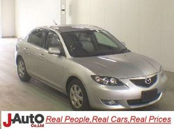 2005 Mazda Axela BK5P Japanese Used Car