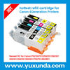 Hot!!!PGI250 CLI251 for Canon Newest refillable Ink Cartridge PIXMA MG5420 MG6320 IP7220 with resettable chip
