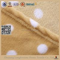 100% polyester ultrasonic polar fleece blanket