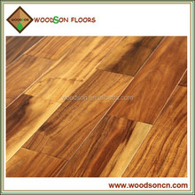 Color Choices Smooth Small Leaf Acacia Solid Wood Flooring