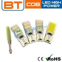 New Design Low Price T10 COB 5 Watt Led Blue Light Bulbs For Cars