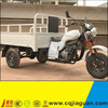 Beautiful White Cargo 3Wheel Tricycle With Heavy Duty Cargo Box