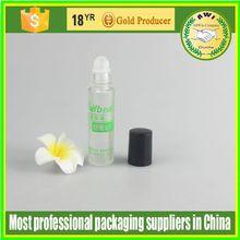5 10ml cute roll on perfume glass bottle shining gold roll on perfume glass bottle