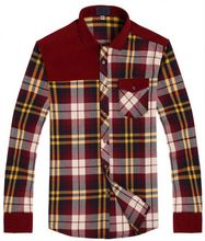 Factory Popular long lasting plaid red checked shirt Fastest delivery