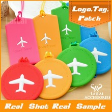 Factory price solid id card luggage tag with various color/travel airplane luggage tag