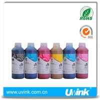 UVINK Brand premium fast dry no heating art paper ink for Epson 6 color