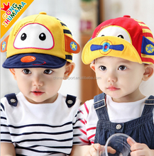 MZ2524 New style 100% Cotton professional factory custom baby caps Kids Hats 2015