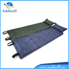 Outdoor damp-proof travel sleeping self inflating folding camping mat