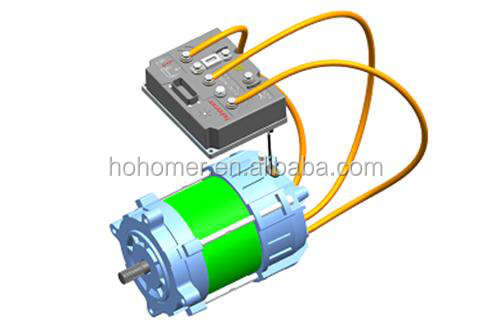 Electric conversion kit of motor and controller for for Dc motor controller for electric car