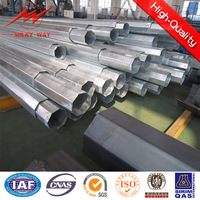 Steel structure Light Pole for car parking with 6m height