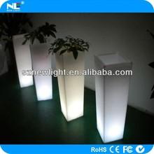 Mordern LED light planter / fancy LED lighting flower pot