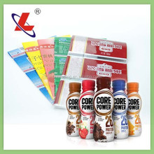 Personized PVC shrinkable labels for beverage with free design