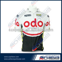 OEM wholesale custom Cycling Uniform/jersey for professional team design good quality cycling bodysuits