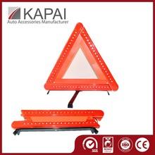 Easy Handle Cheap Car Emergency Kits Warning Triangle LED