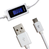 Crazy hot sale smart USB cable with LCD screen