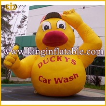 Attractive Cute Inflatabl Duck Animal, Giant Inflatable Rubber Duck For Promotion