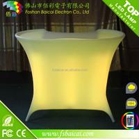 colorful led Bar Counter /led furniture/mobile bar counter