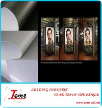 High Glossy Polyester Blockout Banner Material For Exhibition Booth Decoration , Inkjet PVC Flex Ban