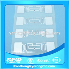 uhf rfid del embutido H3 Extranjero con reverso adhesivo