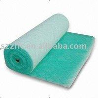 Fiberglass paint arrestor /sponge air filters material(30,50,100mm thick)
