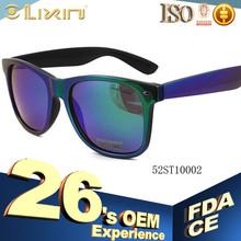China New design Plastic sunglasses suncristal branded 52ST10002 model number