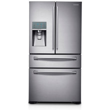 RF31FMEDBSR Stainless Steel French Door Refrigerator with FlexZone Drawer, 31.0 Cubic Feet by Samsung