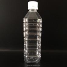 350ml 300ml clear pet empty plastic drinking water bottle