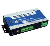 GSM SMS Relay Switch ON OFF by Mobile Phone when you are away,SMS Text Command,Remote Turn Relay ON OFF by NC NO input