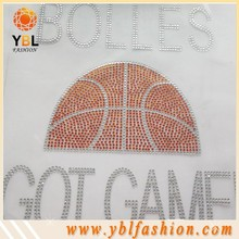 Hotfix University Round Clear Rhinestone Transfer Motifs