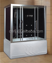 (905) black color russian high-tech shower room