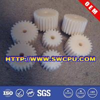 Custom mc nylon worm gear sprocket gears